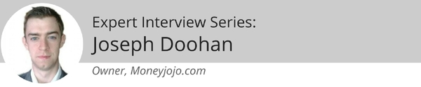 Expert Interview Series: Joseph Doohan of Moneyjojo.com About Saving Money and Finding Great Deals Online